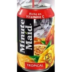 MINUTE MAID Tropical -métal- 33 cl - les 24