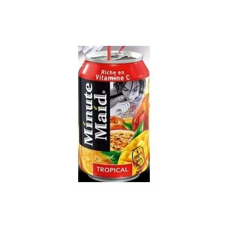 Minute Maid tropicale - scatola di metallo 33 cl