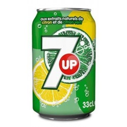 SEVEN-UP -métal- 33 cl