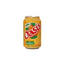 OASIS Orange -métal- 33 cl - les 24
