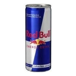 RED BULL -métal- 25 cl