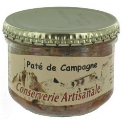 """PATE -Campagne- """"Terroir des Pyrénées"""" bocal 180 g"""