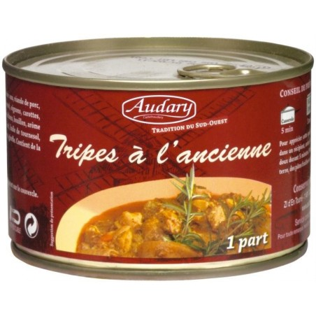 TRIPES cooked old-fashioned Audary - Box of 400 g