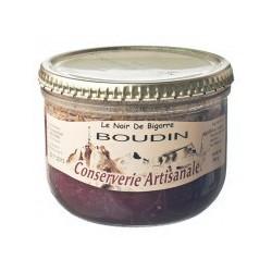 """BOUDIN -Porc Noir- """"Terroir des Pyrénées"""" bocal 180 g"""