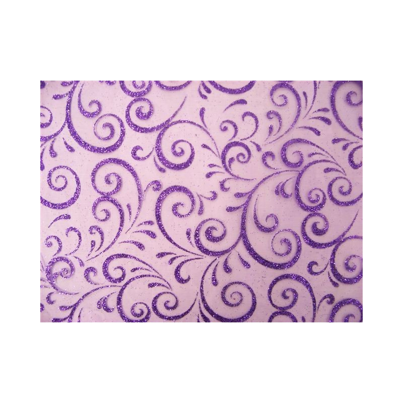 PATH tessuto larghezza 0,30 m-VIOLA TABLE - rotolo di 5 m