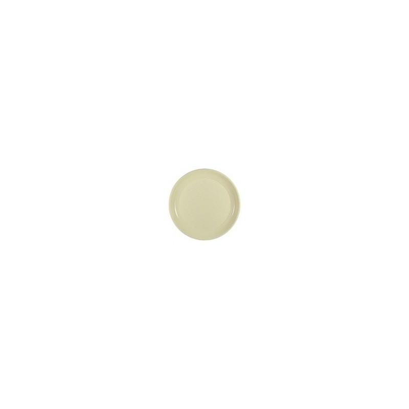 placa redonda -O 24 cm - MARFIL - La bolsa 12