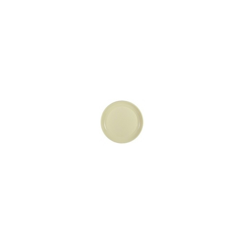 PLATE ROUND -Ø 24 cm - IVORY - The bag 12