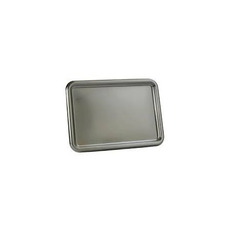 BANDEJA RECTANGULAR 465 x 252 mm - PLATA - 3