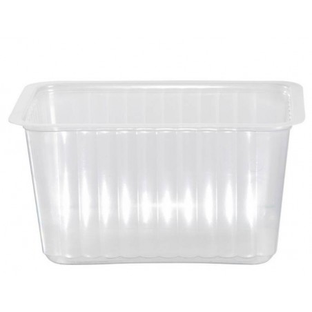 TRAY TRANSLUCENT sealable and mico-ondable -1800 cc- the 100