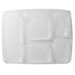 COVER PLATE trasparenti per alimenti -5 compartimenti-25
