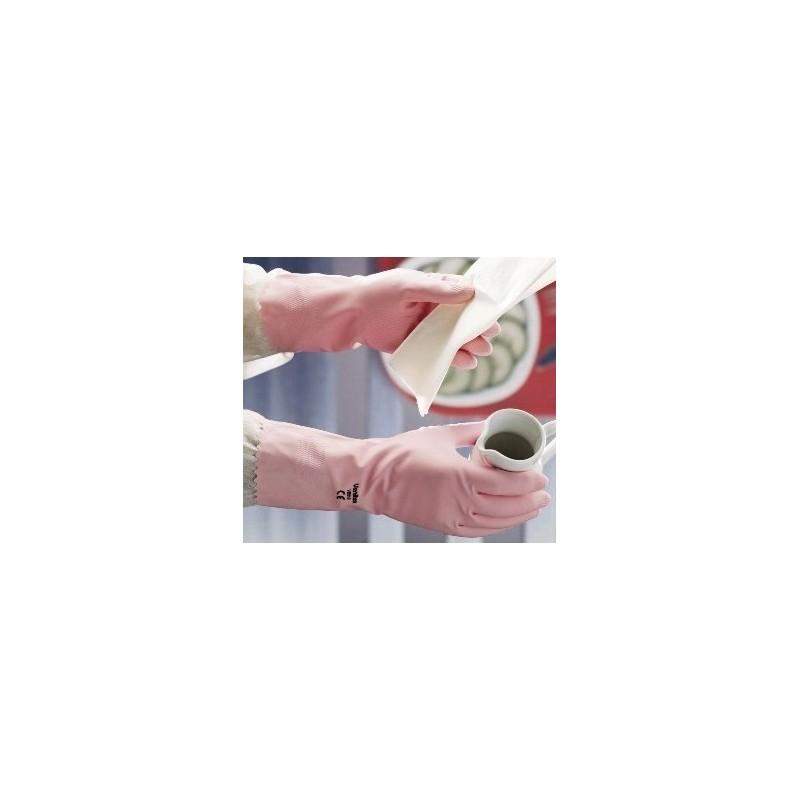 Gant de ménage rose taille 7,5