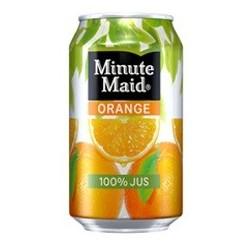 Minute Maid Arancione lattine di metallo 33 cl