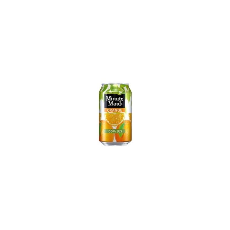 MINUTE MAID orange Metalldosen 33 cl