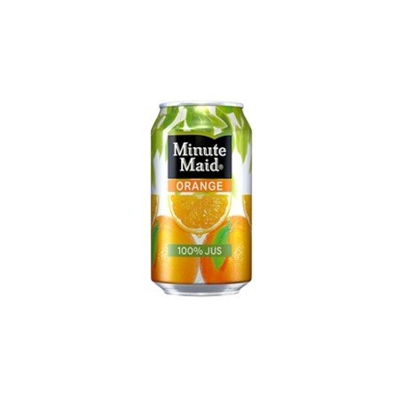 MINUTE MAID Orange metal can 33 cl