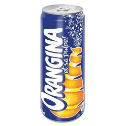 ORANGINA Metal can 33 cl