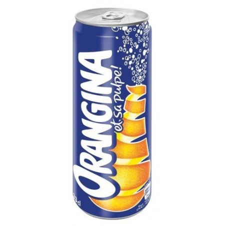 ORANGINA canette metal 33 cl