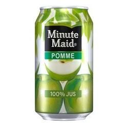 MINUTE MAID Apfel Metallspule 33 cl