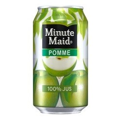 MINUTE MAID Pomme canette metal 33 cl