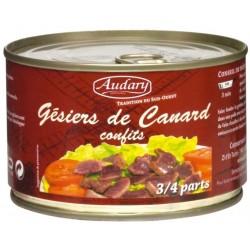 GESIERS de Canard CONFITS - boîte 385 g