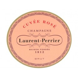 Laurent-Perrier CHAMPAGNE BRUT Rosé Wine AOP 75 cl in its luxurious case