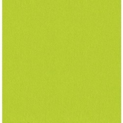 SERVIETTE cocktail VERT ANIS en papier jetable 20 x 20 cm 2 épaisseurs double point- le sachet de 100