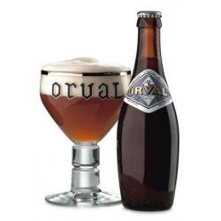 Cerveza Orval ámbar belga 6,2 ° 33 cl