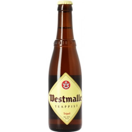 Beer WESTMALLE Triple Belgian 9.5 ° 33 cl
