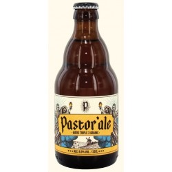Beer PASTOR ALE Triple Belgian 8.5 ° 33 cl