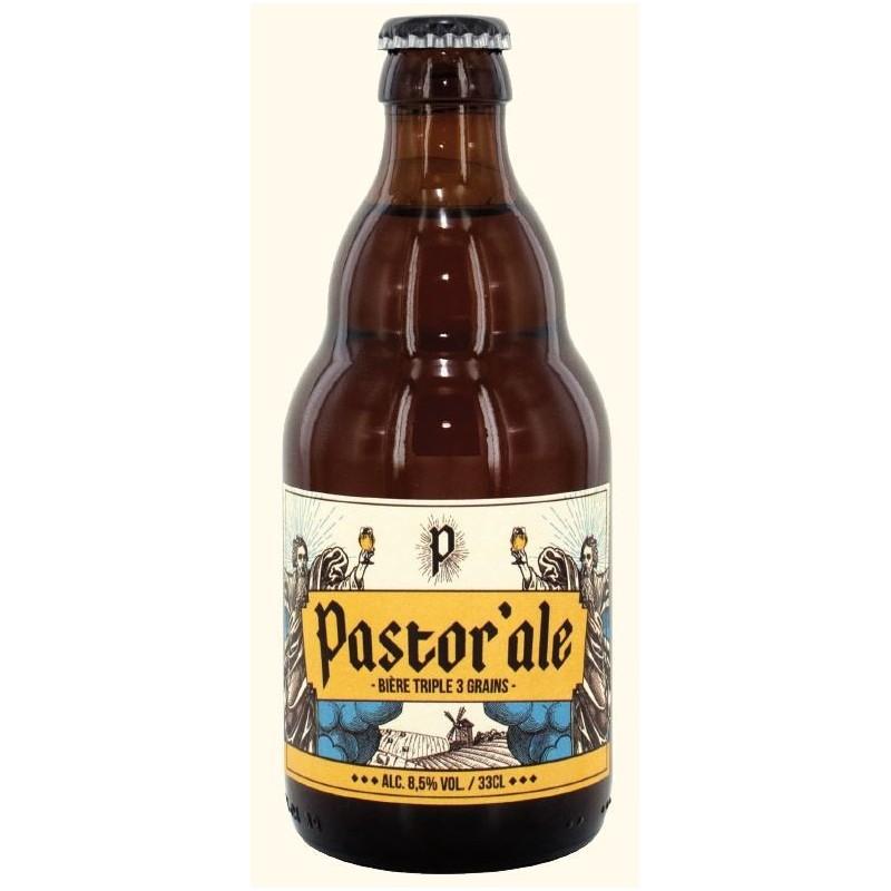 Bière PASTOR ALE Triple Belge 8.5° 33 cl