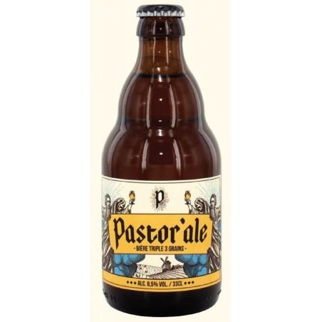 Birra PASTOR ALE Triple belga 8,5 ° 33 cl