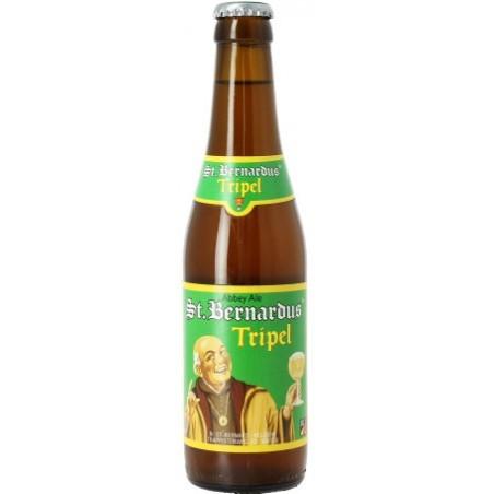 Cerveza ST BERNARDUS Triple belga 8 ° 33 cl