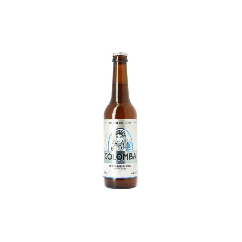 White Beer Colomba Corsica 5 ° 33 cl