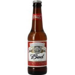Cerveza Lager BUDWEISER Estados Unidos 5 ° 33 cl
