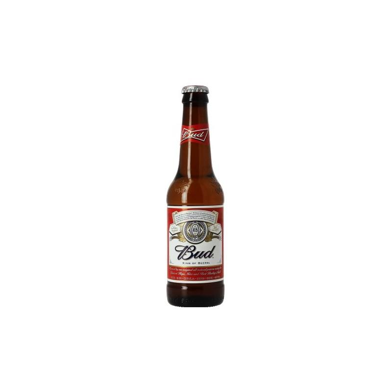 Birra chiara BUDWEISER Stati Uniti 5 ° 33 cl