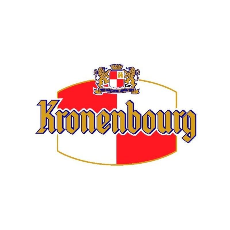 Beer KRONENBOURG Blond French was 4.8 ° L 30 (30 EUR deposit included in the price)