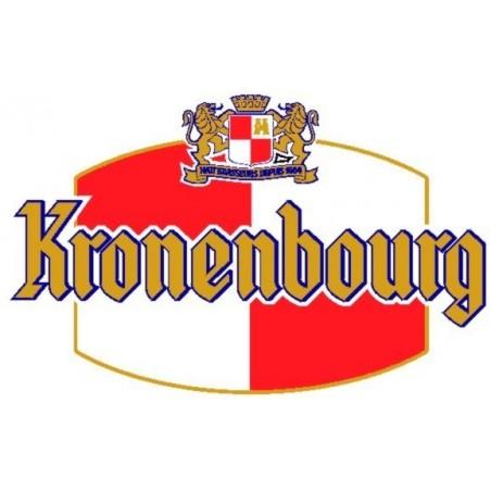 Bier KRONENBOURG Blondes Französisch betrug 4,8 ° L 30 (30 EUR Kaution im Preis inbegriffen)