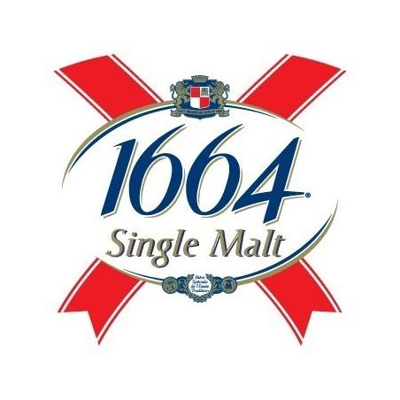 Cerveza Lager francesa 1664 fue de 5,5 ° L 30 (30 euros de depósito incluido en el precio)