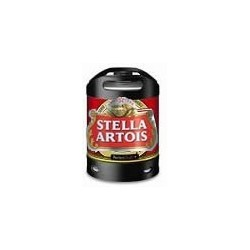 Bière STELLA Blonde Française 5° fût de 6 L pour machine Perfect Draft de Philips (7.10 EUR de consigne comprise dans le prix)