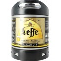 Bière LEFFE Blonde Belge 6.6° fût de 6 L pour machine Perfect Draft de Philips (7.10 EUR de consigne comprise dans le prix)