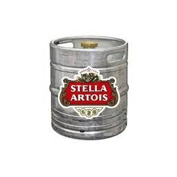Beer STELLA Blond French 4.8 ° 30 L drum (30 EUR of set point included in the price) - pointing head