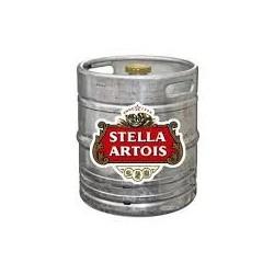 Bière STELLA Blonde Française 4.8° fût de 30 L (30 EUR de consigne comprise dans le prix) - tête de soutirage pointue
