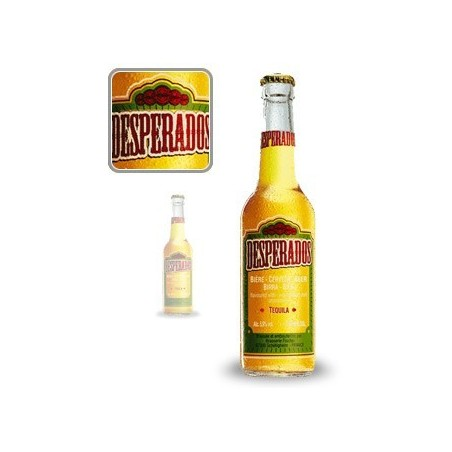 Beer DESPERADOS Blond French 5.9 ° 33 cl