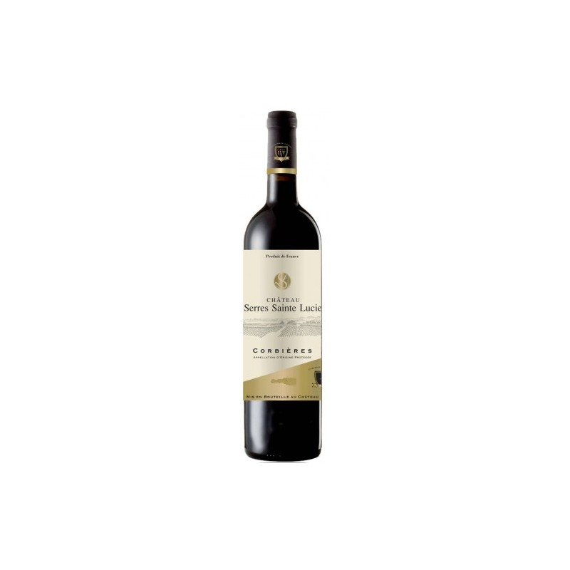 Castle Serres Saint Lucia CORBIERES Red Wine AOP 75 cl