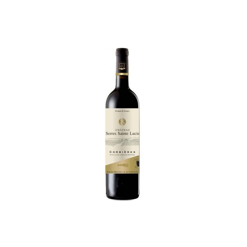 Château Serres Sainte Lucie CORBIERES Vin Rouge AOP 75 cl