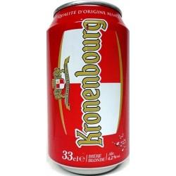 Bier KRONENBOURG Lager 4,5 ° Französisch Metallbox 33 cl