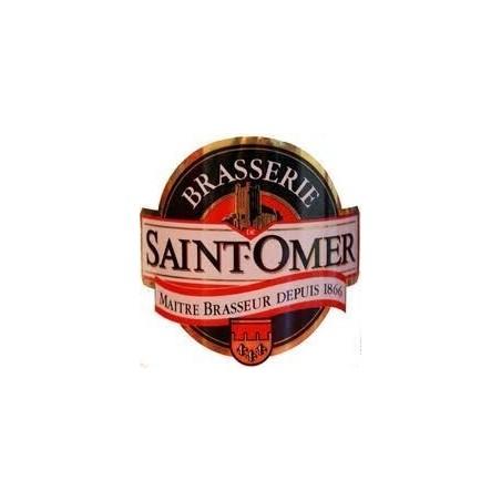 Bier SAINT-OMER Blondes Französisch betrug 4,7 ° L 30 (30 EUR Kaution im Preis inbegriffen)