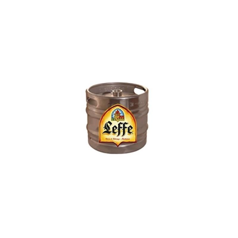 Bière LEFFE Brune Belge 6.5° fût de 30 L (30 EUR de consigne comprise dans le prix)