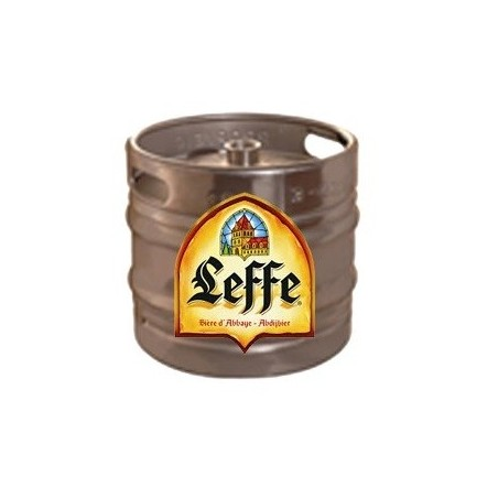 Beer LEFFE Brown Belgian 6.5 ° keg of 30 L (30 EUR included in the price)