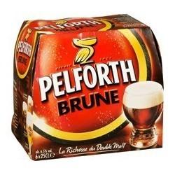 Cerveza Pelforth Negra 6.5 ° franceses de 25 cl