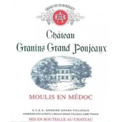 Château Granins Grand Poujeaux MOULIS Vin Rouge AOC 75 cl